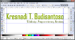 Logo im Editor