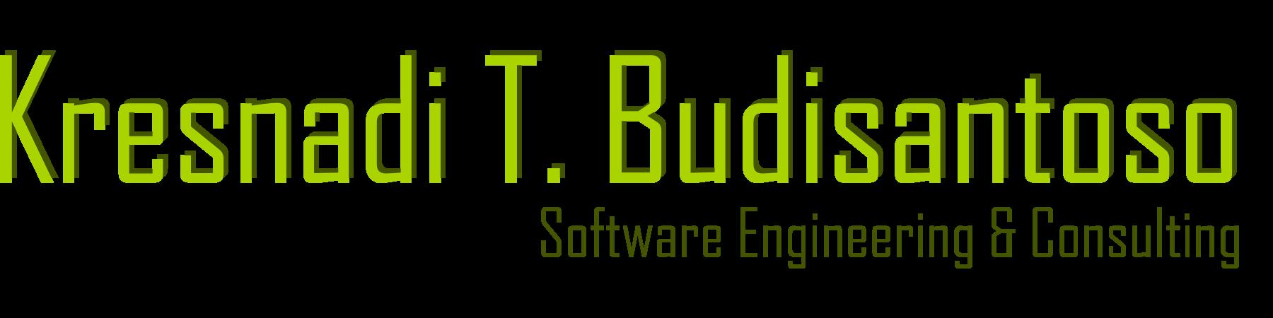 Kresnadi T. Budisantoso | Einerseits: Software Engineering, Projektmanagement, Prozesse und Organisation, Programmierung … und andererseits: Hobbies, Rezepte, Photos, Wissenswertes, sonstige Interessen, …