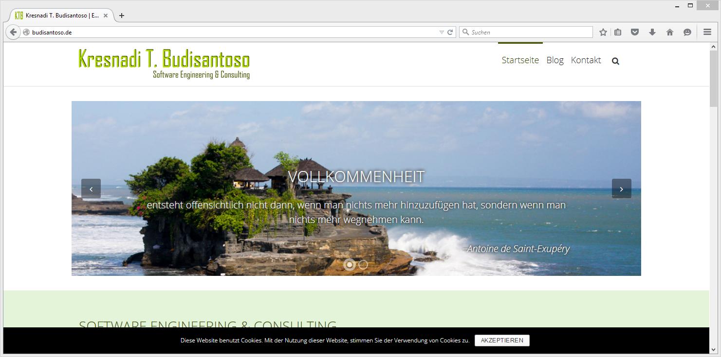Relaunch meiner Website