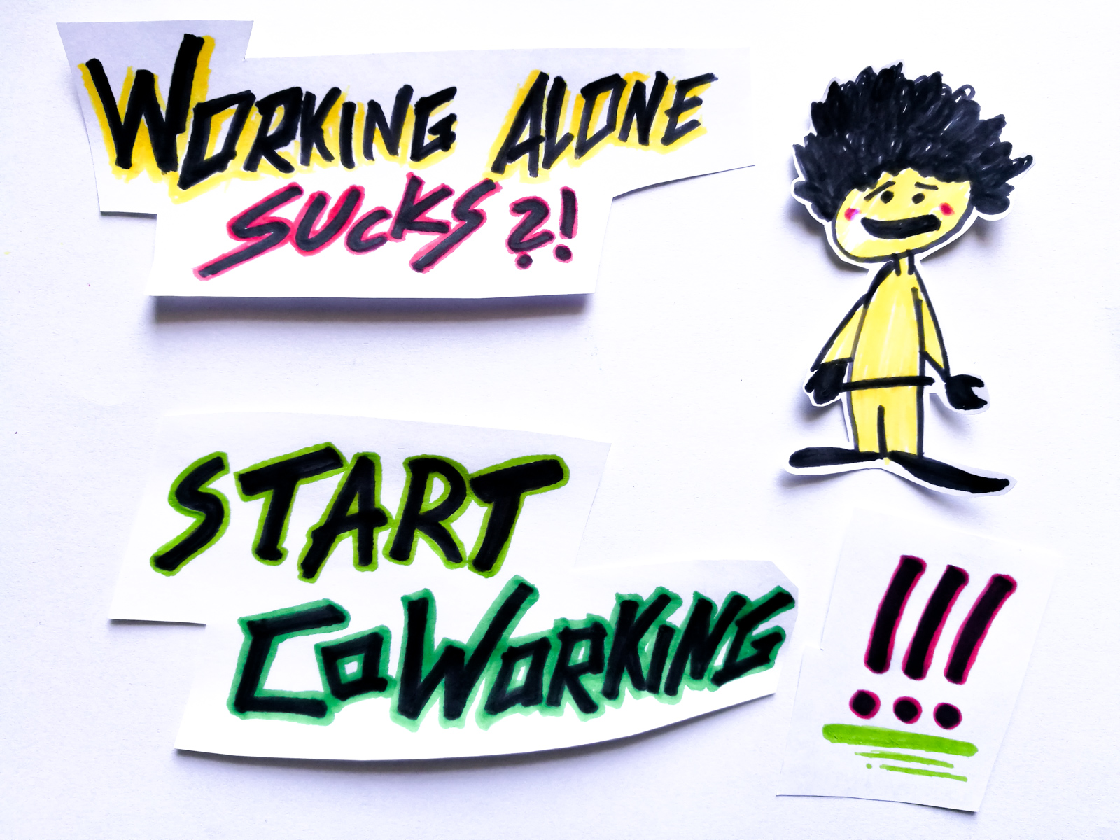 Working alone sucks ... Start CoWorking!
